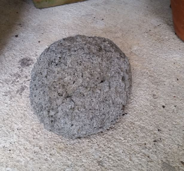 My hypertufa rock