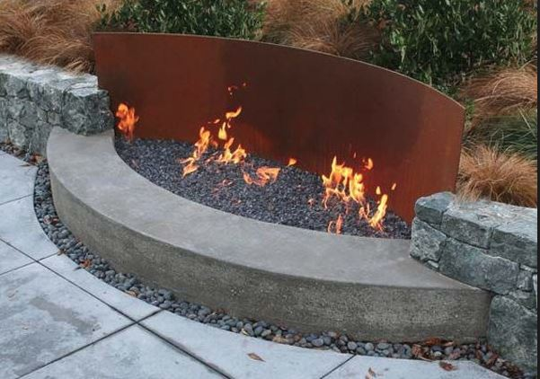 Awesome Backyard Fire Pits Container Water Gardens